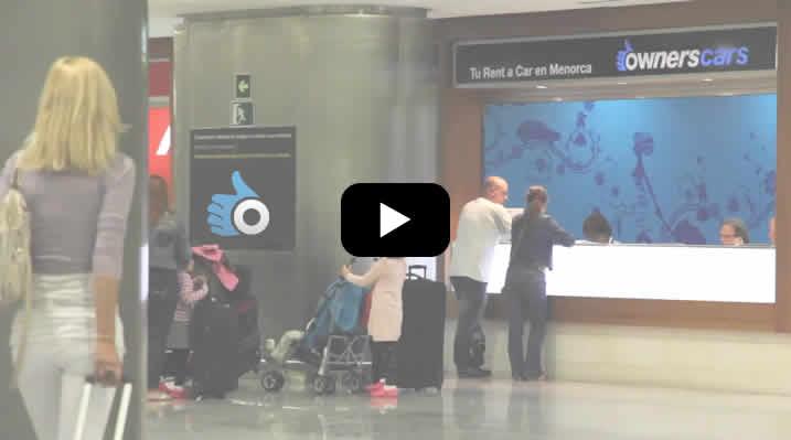 Aeropuerto Menorca Video