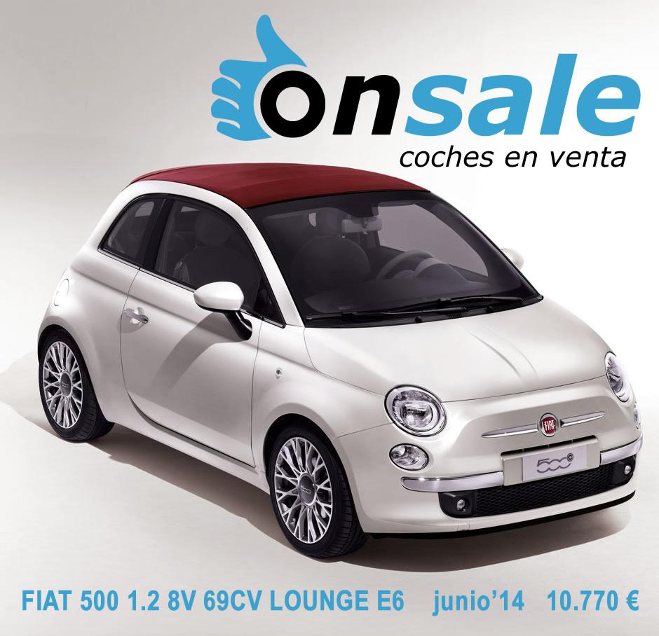 Fiat 500 de segunda mano - Coche segunda mano menorca ...